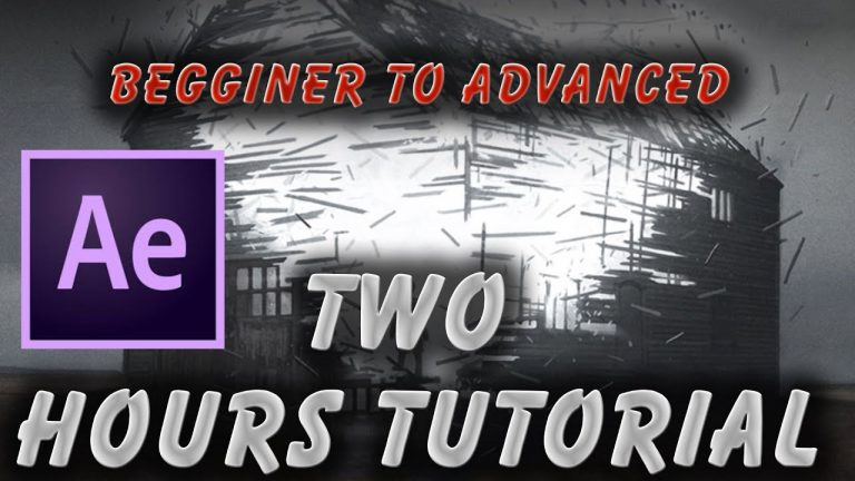 After Effects CC 2015 Tutorial |Animation,Mask,Tracking,3D,Text,Shape,VFX & etc|Beginner to Advanced