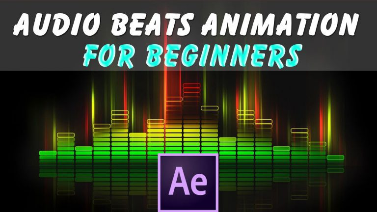 Audio Beats Animation For Beginner   After Effects