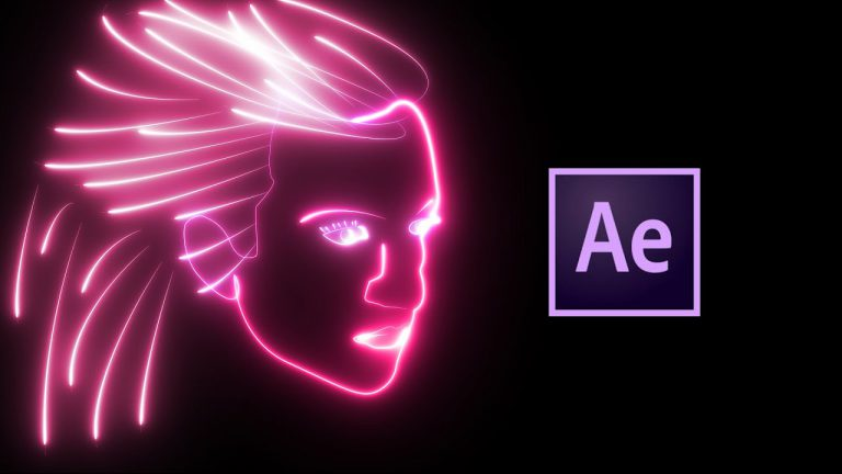 Neon Face Animation Tutorial with VideoCopilot SABER   After Effects
