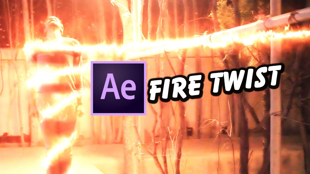 Visual Effects Fire Twist Tutorial with VideoCopilot SABER | After Effects