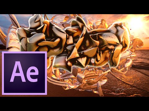Amazing Background , Text And Logo | After Effects | Trapcode TAO