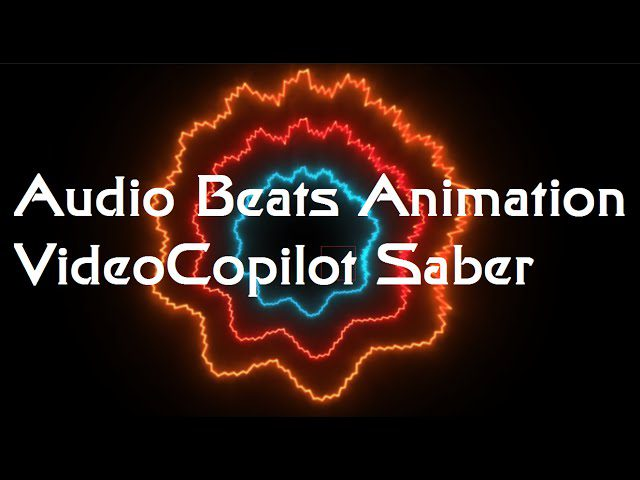 Tutorial Audio Beats Animation Video Copilot Saber | After Effects