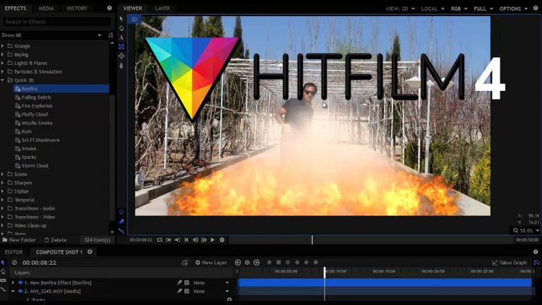 HitFilm Pro 4 Tutorial   Visual Effects and Editing