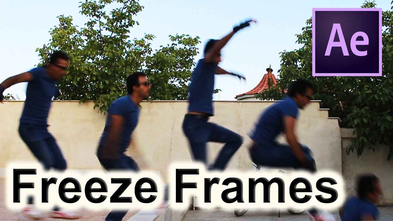 Freeze Frames | Visual Effects | After Effects