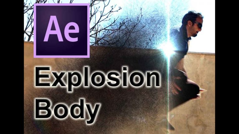 Disintegration Body | Visual Effects | After Effects