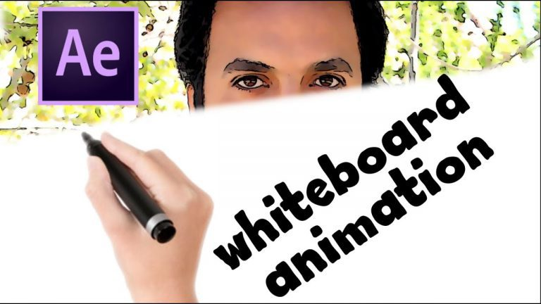 Whiteboard Animation Tutorial | Adobe After Effects