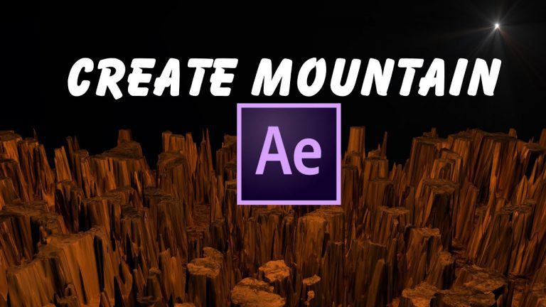 Create Mountain Tutorial | Trapcode Mir | After Effects
