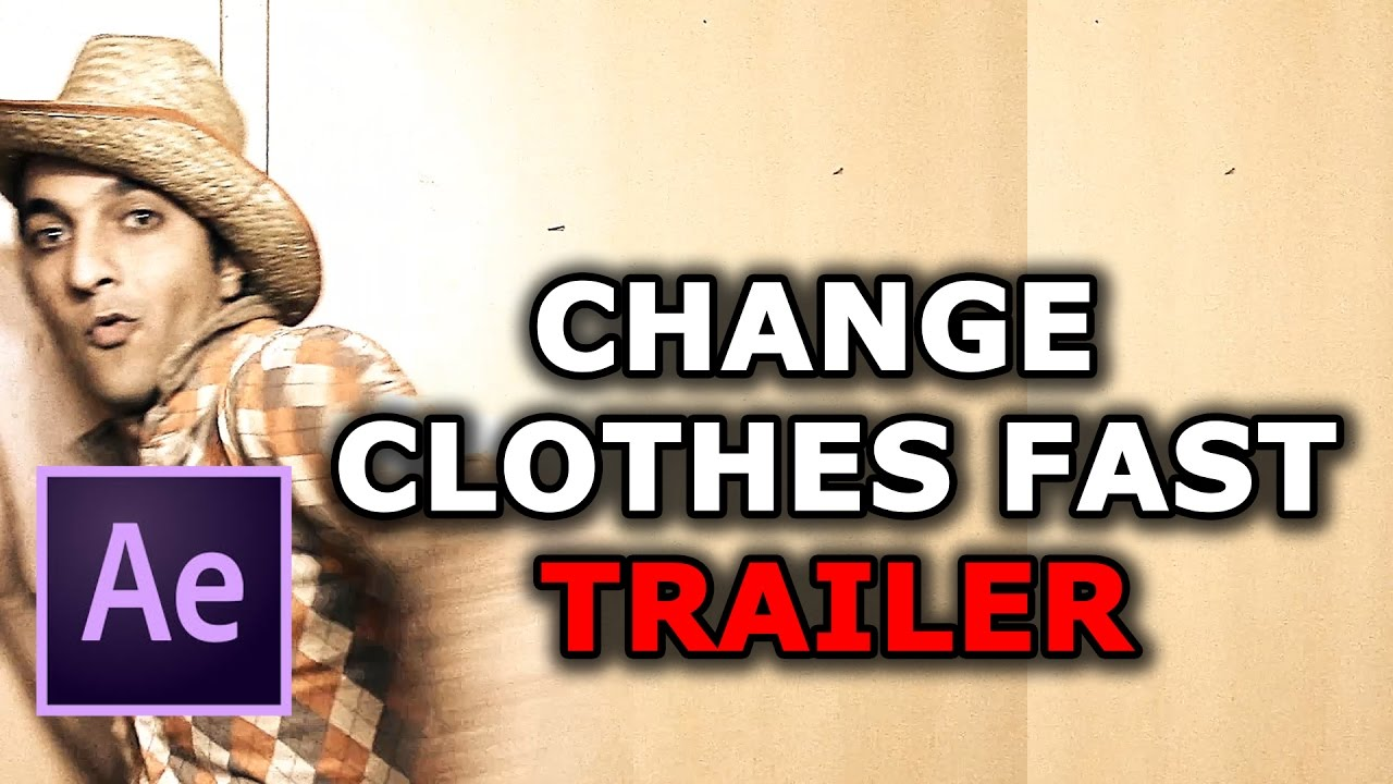 Change Clothes Fast Test | Adobe After Effects