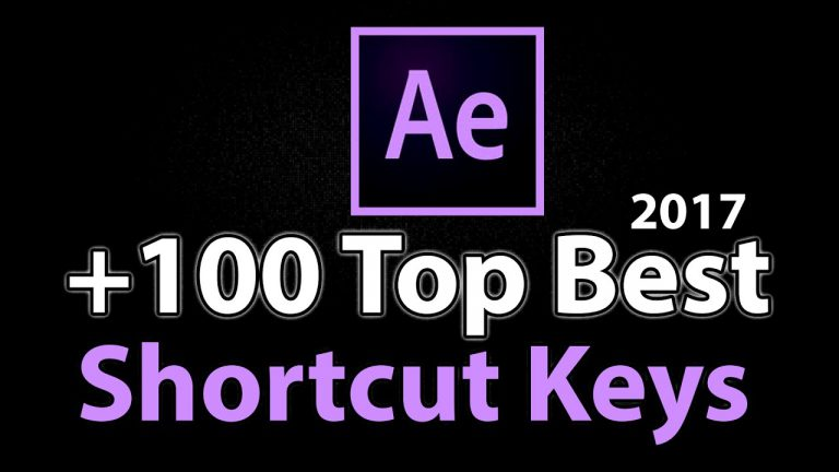 +100 the best Shortcut Keys | 10X Faster Work | Adobe After Effects