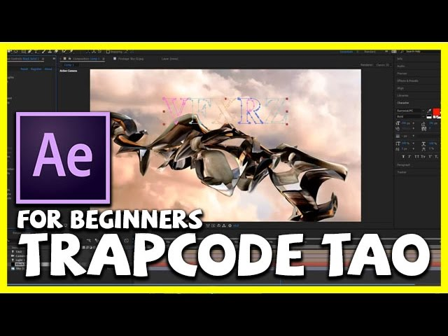 Trapcode TAO Tutorial For Beginners Adobe After Effects