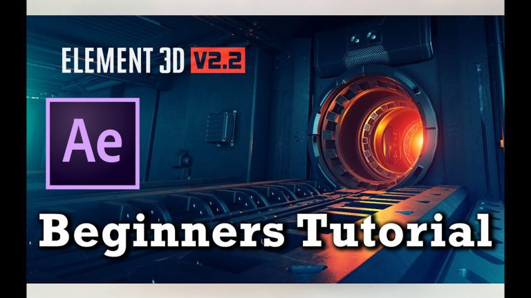 Element 3D V2.2 Tutorial For Beginners   After Effects