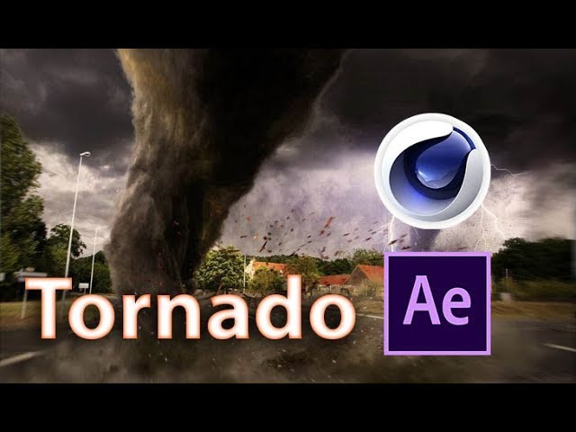 3D Tornado Tutorial | Cinema 4D & After Effects