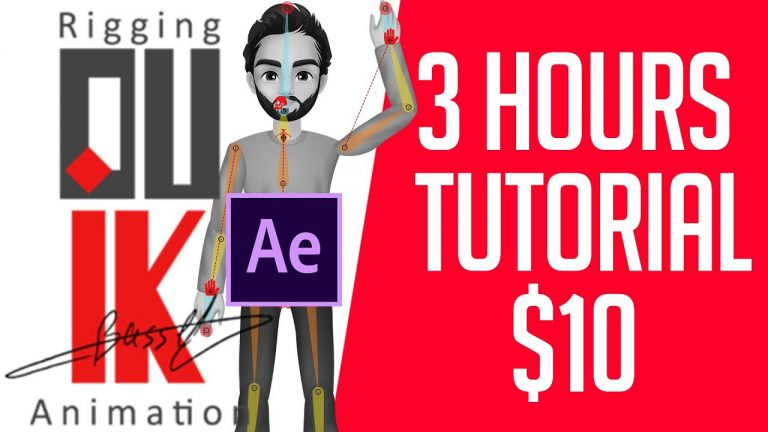 3 hours Tutorial of Duik Bassel just $10 | Motion Graphics | Rigging