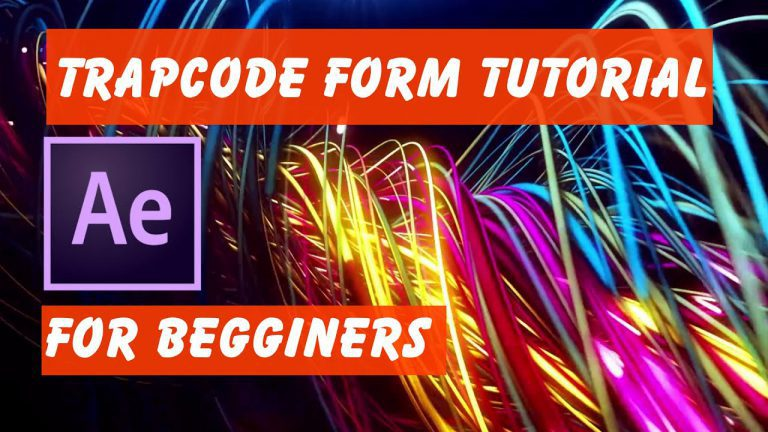 Tutorial Trapcode Form 2.1 For Beginners   Reference Tutorial After Effects