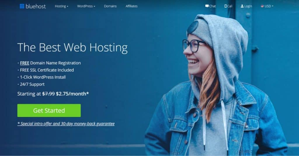 What is best web hosting with free domain of 2021
