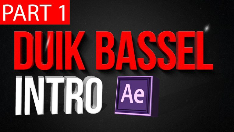 Duik Bassel Tutorial Part 1 of 30 |Introduction,After Effects,Motion Graphics,2D Animation,Rigging