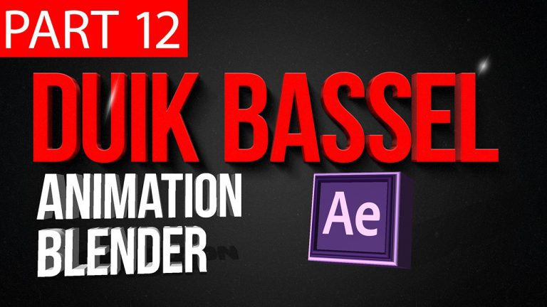 Duik Bassel Tutorial Part 12 of 30 Animation Blender|After Effects,Motion Graphics,2D Animation