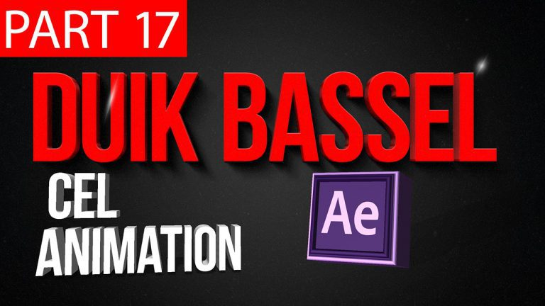 Duik Bassel Tutorial Part 17 of 30 Cel Animation|After Effects,Motion Graphics,2D Animation,Rigging