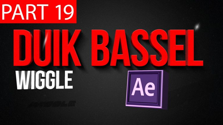 Duik Bassel Tutorial Part 19 of 30 Wiggle|After Effects,Motion Graphics,2D Animation,Rigging