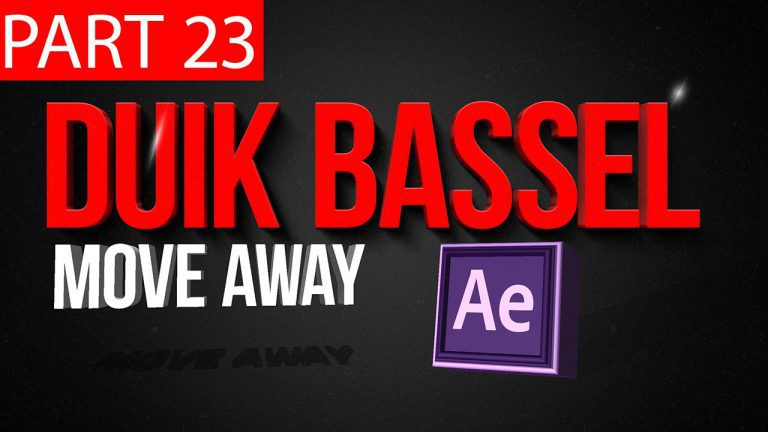 Duik Bassel Tutorial Part 23 of 30 Move Away|After Effects,Motion Graphics,2D Animation,Rigging