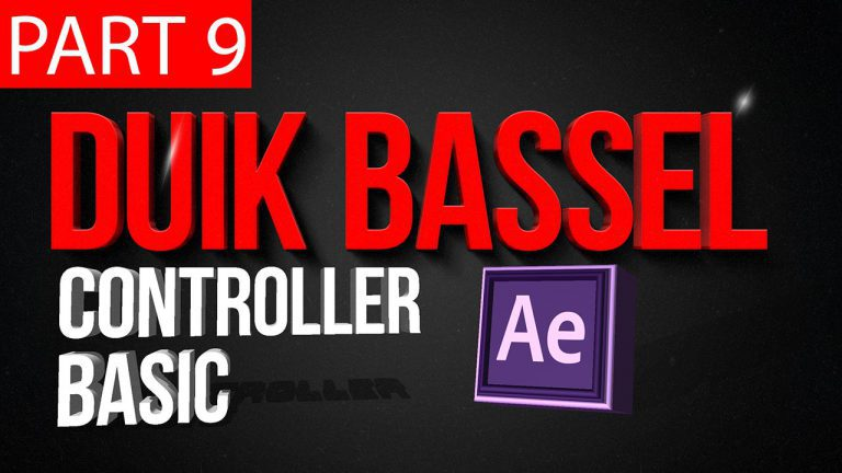 Duik Bassel Tutorial Part 9 of 30 | Controller Basic | After Effects,Motion Graphics